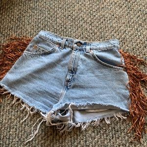 Urban Outfiters high waisted Levi Shorts